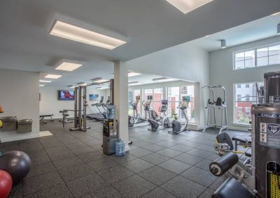 Aquia15 fitness room